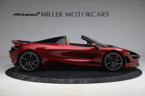 New 2022 McLaren 720S Spider for sale $382,090 at Pagani of Greenwich in Greenwich CT 06830 9