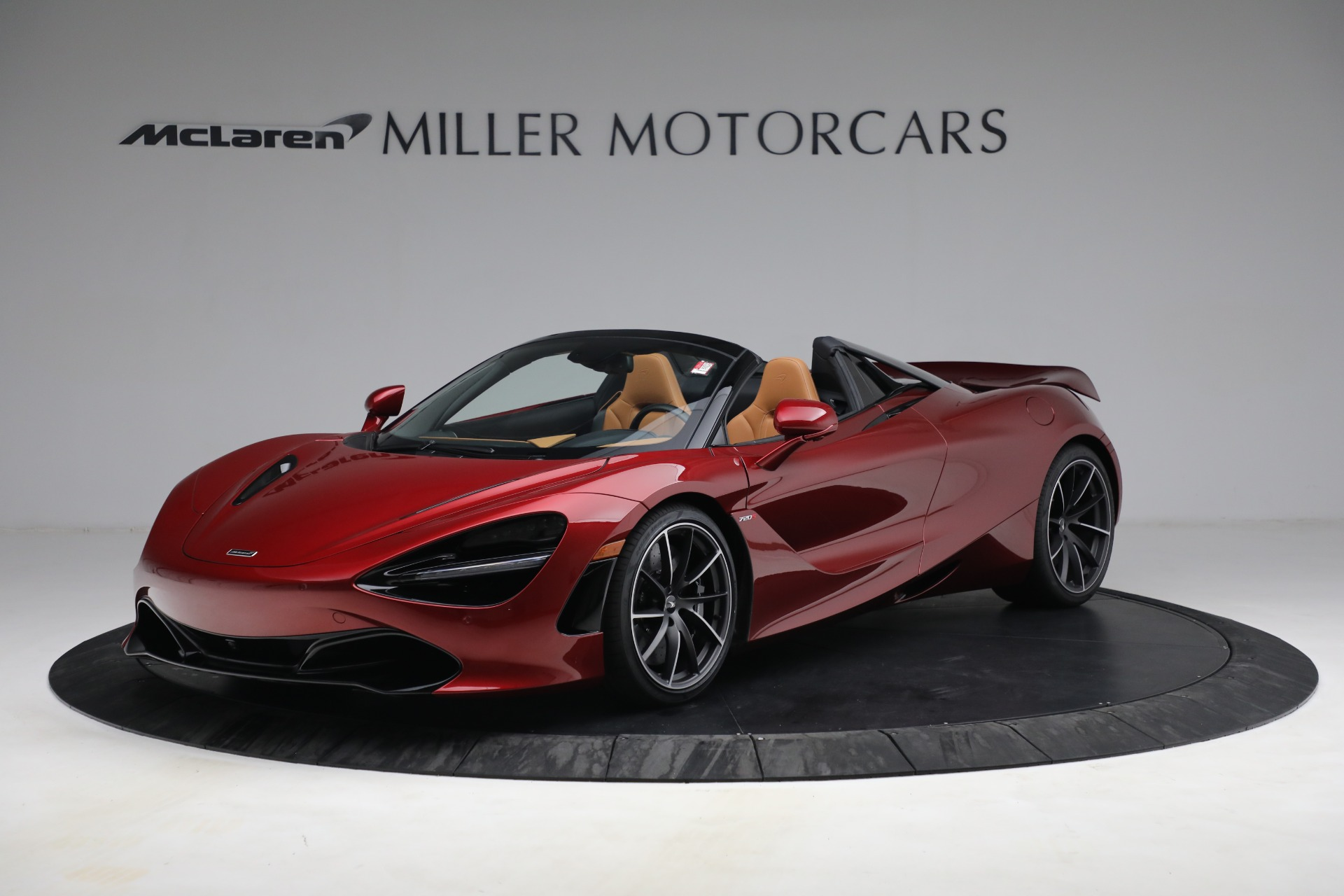 New 2022 McLaren 720S Spider for sale $382,090 at Pagani of Greenwich in Greenwich CT 06830 1