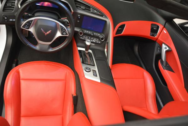 Used 2014 Chevrolet Corvette Stingray Z51 for sale Sold at Pagani of Greenwich in Greenwich CT 06830 17
