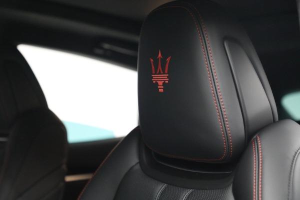 New 2022 Maserati Levante GT for sale $95,965 at Pagani of Greenwich in Greenwich CT 06830 16