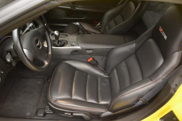 Used 2006 Chevrolet Corvette Z06 Hardtop for sale Sold at Pagani of Greenwich in Greenwich CT 06830 13