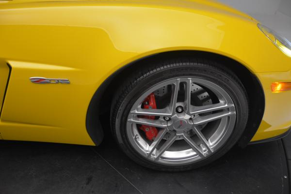 Used 2006 Chevrolet Corvette Z06 Hardtop for sale Sold at Pagani of Greenwich in Greenwich CT 06830 18
