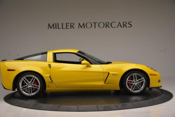 Used 2006 Chevrolet Corvette Z06 Hardtop for sale Sold at Pagani of Greenwich in Greenwich CT 06830 8