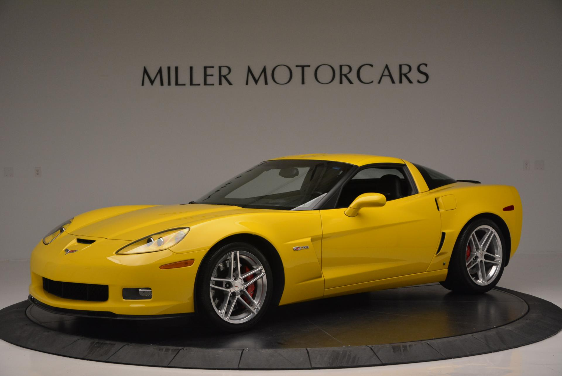 Used 2006 Chevrolet Corvette Z06 Hardtop for sale Sold at Pagani of Greenwich in Greenwich CT 06830 1