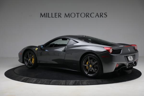 Used 2011 Ferrari 458 Italia for sale $229,900 at Pagani of Greenwich in Greenwich CT 06830 4