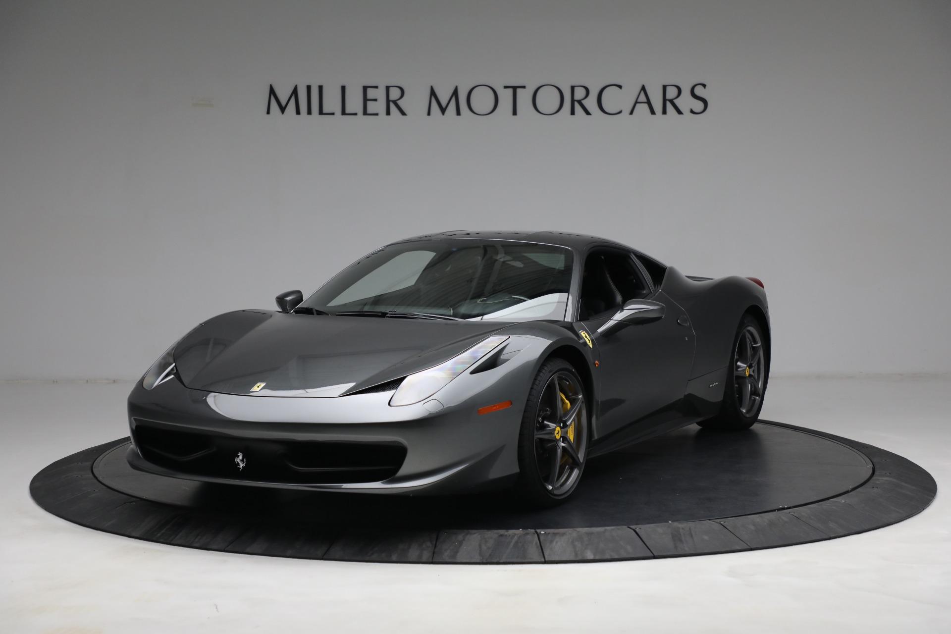 Used 2011 Ferrari 458 Italia for sale $229,900 at Pagani of Greenwich in Greenwich CT 06830 1