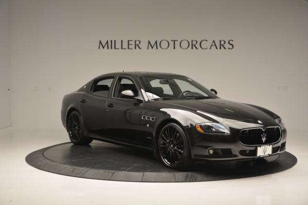 Used 2011 Maserati Quattroporte Sport GT S for sale Sold at Pagani of Greenwich in Greenwich CT 06830 11