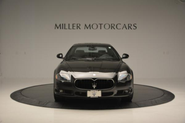 Used 2011 Maserati Quattroporte Sport GT S for sale Sold at Pagani of Greenwich in Greenwich CT 06830 12