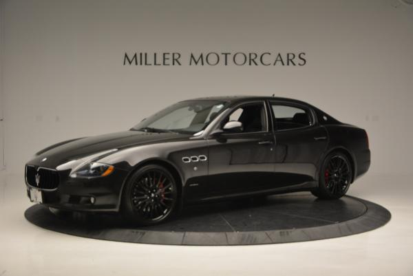 Used 2011 Maserati Quattroporte Sport GT S for sale Sold at Pagani of Greenwich in Greenwich CT 06830 2