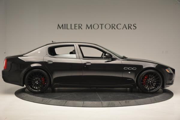 Used 2011 Maserati Quattroporte Sport GT S for sale Sold at Pagani of Greenwich in Greenwich CT 06830 9
