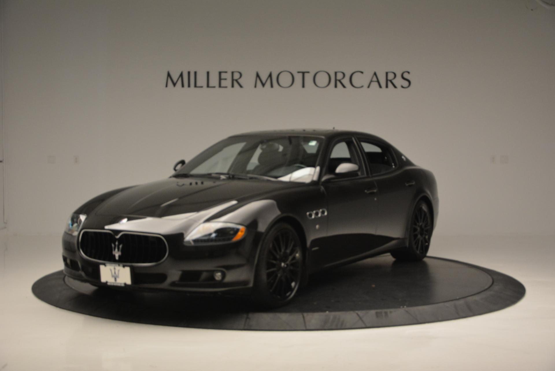 Used 2011 Maserati Quattroporte Sport GT S for sale Sold at Pagani of Greenwich in Greenwich CT 06830 1