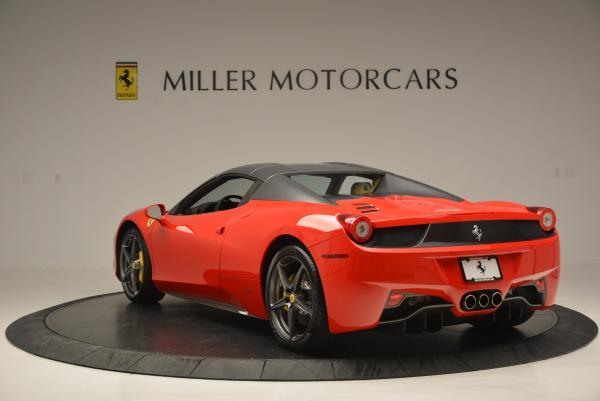 Used 2013 Ferrari 458 Spider for sale Sold at Pagani of Greenwich in Greenwich CT 06830 17