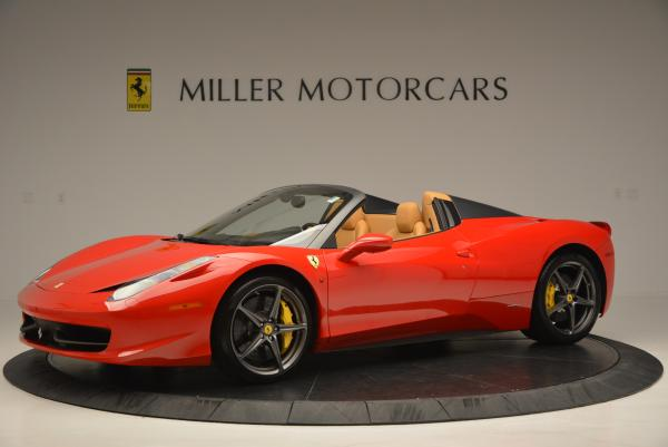 Used 2013 Ferrari 458 Spider for sale Sold at Pagani of Greenwich in Greenwich CT 06830 2