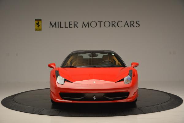 Used 2013 Ferrari 458 Spider for sale Sold at Pagani of Greenwich in Greenwich CT 06830 24