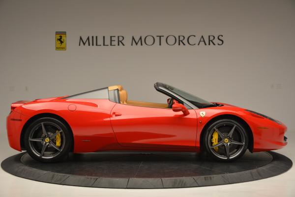 Used 2013 Ferrari 458 Spider for sale Sold at Pagani of Greenwich in Greenwich CT 06830 9
