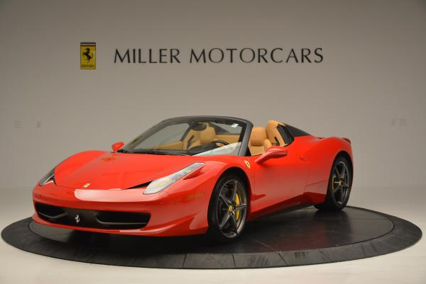 Used 2013 Ferrari 458 Spider for sale Sold at Pagani of Greenwich in Greenwich CT 06830 1