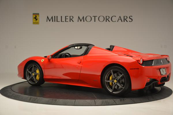 Used 2015 Ferrari 458 Spider for sale Sold at Pagani of Greenwich in Greenwich CT 06830 4