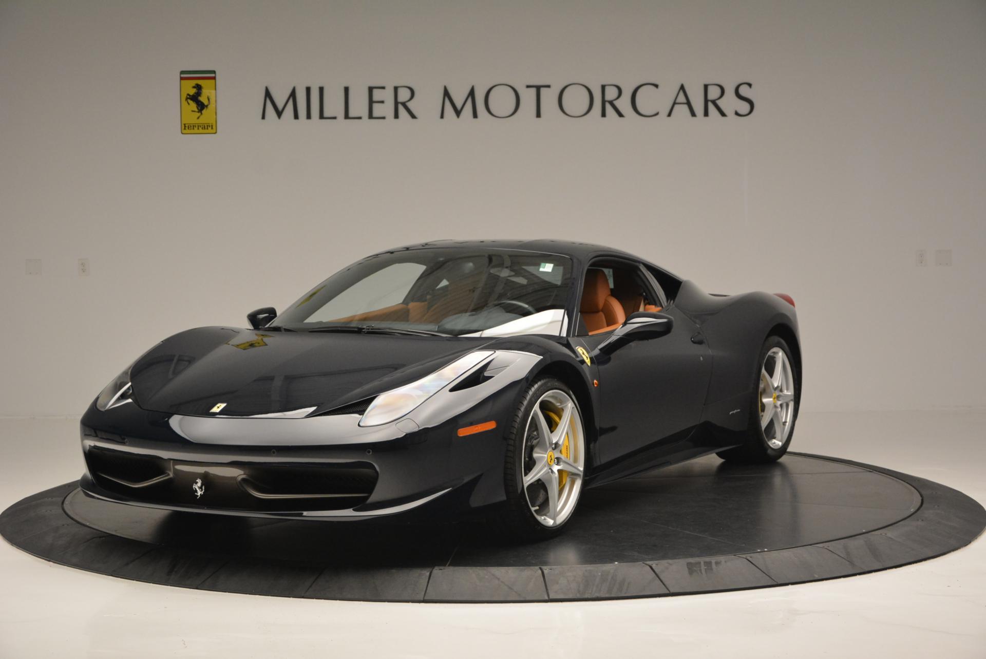 Used 2010 Ferrari 458 Italia for sale Sold at Pagani of Greenwich in Greenwich CT 06830 1