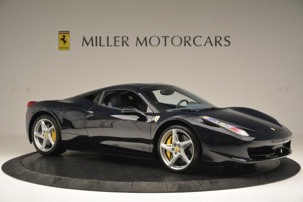 Used 2012 Ferrari 458 Italia for sale Sold at Pagani of Greenwich in Greenwich CT 06830 10