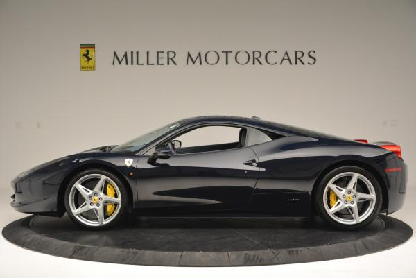 Used 2012 Ferrari 458 Italia for sale Sold at Pagani of Greenwich in Greenwich CT 06830 3