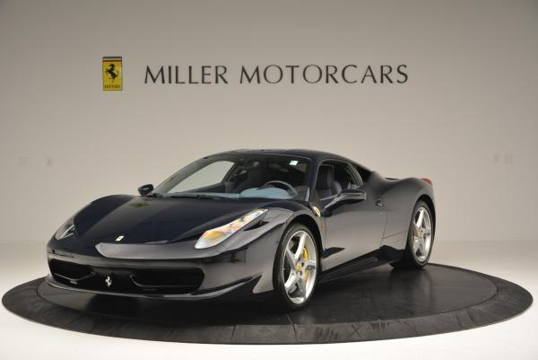 Used 2012 Ferrari 458 Italia for sale Sold at Pagani of Greenwich in Greenwich CT 06830 1