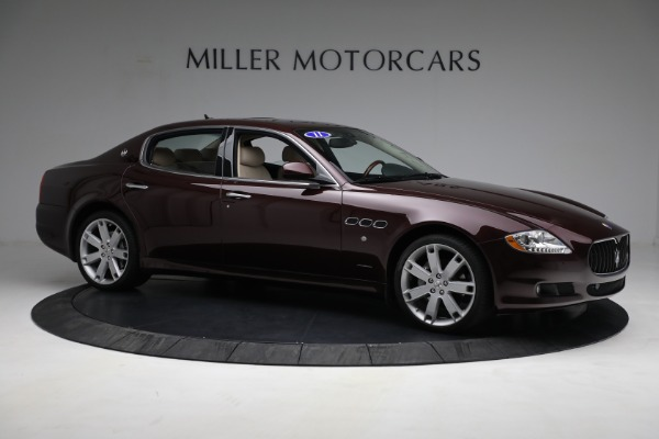 Used 2011 Maserati Quattroporte for sale $37,900 at Pagani of Greenwich in Greenwich CT 06830 11