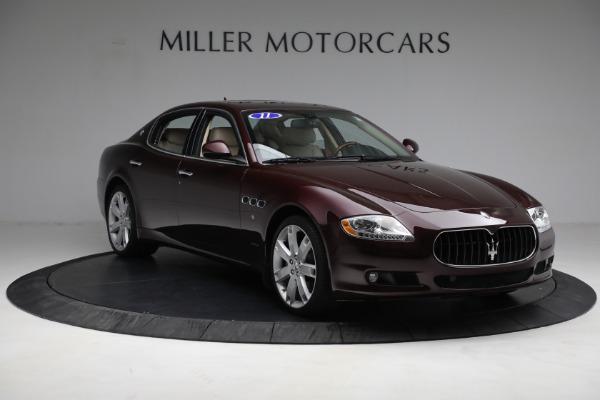 Used 2011 Maserati Quattroporte for sale $37,900 at Pagani of Greenwich in Greenwich CT 06830 12