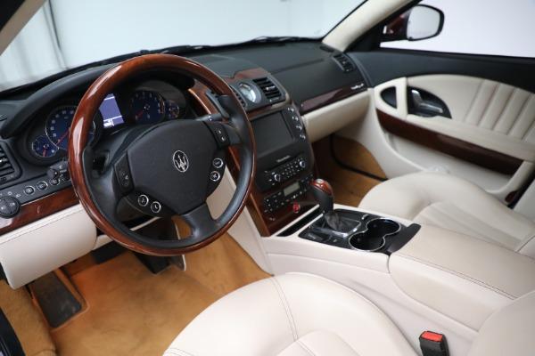 Used 2011 Maserati Quattroporte for sale $37,900 at Pagani of Greenwich in Greenwich CT 06830 14