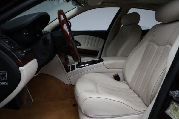 Used 2011 Maserati Quattroporte for sale $37,900 at Pagani of Greenwich in Greenwich CT 06830 15