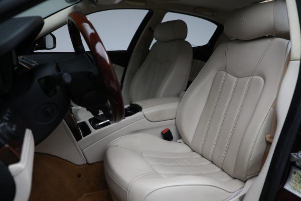 Used 2011 Maserati Quattroporte for sale $37,900 at Pagani of Greenwich in Greenwich CT 06830 16