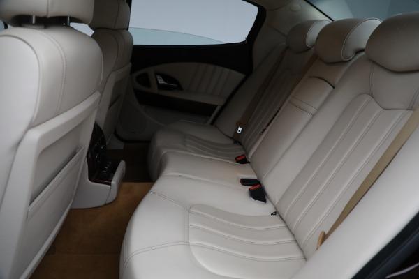 Used 2011 Maserati Quattroporte for sale $37,900 at Pagani of Greenwich in Greenwich CT 06830 19