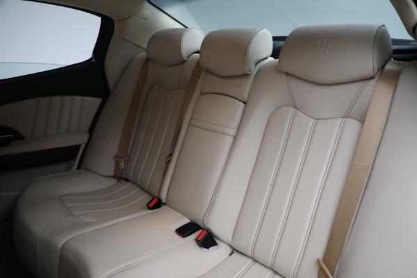 Used 2011 Maserati Quattroporte for sale $37,900 at Pagani of Greenwich in Greenwich CT 06830 20