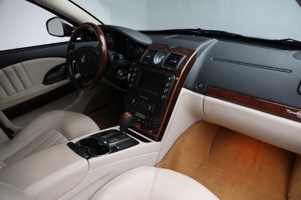 Used 2011 Maserati Quattroporte for sale $37,900 at Pagani of Greenwich in Greenwich CT 06830 22