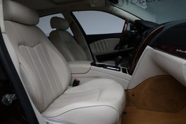 Used 2011 Maserati Quattroporte for sale $37,900 at Pagani of Greenwich in Greenwich CT 06830 23