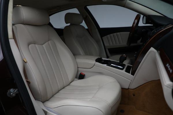 Used 2011 Maserati Quattroporte for sale $37,900 at Pagani of Greenwich in Greenwich CT 06830 24
