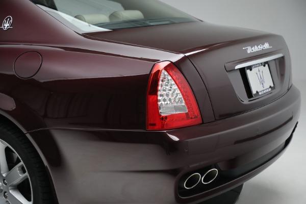Used 2011 Maserati Quattroporte for sale $37,900 at Pagani of Greenwich in Greenwich CT 06830 25