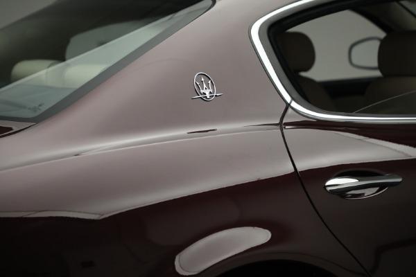 Used 2011 Maserati Quattroporte for sale $37,900 at Pagani of Greenwich in Greenwich CT 06830 26