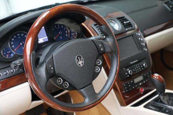 Used 2011 Maserati Quattroporte for sale $37,900 at Pagani of Greenwich in Greenwich CT 06830 27