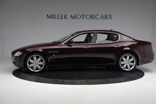 Used 2011 Maserati Quattroporte for sale $37,900 at Pagani of Greenwich in Greenwich CT 06830 4