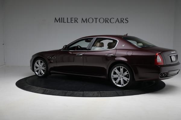 Used 2011 Maserati Quattroporte for sale $37,900 at Pagani of Greenwich in Greenwich CT 06830 5