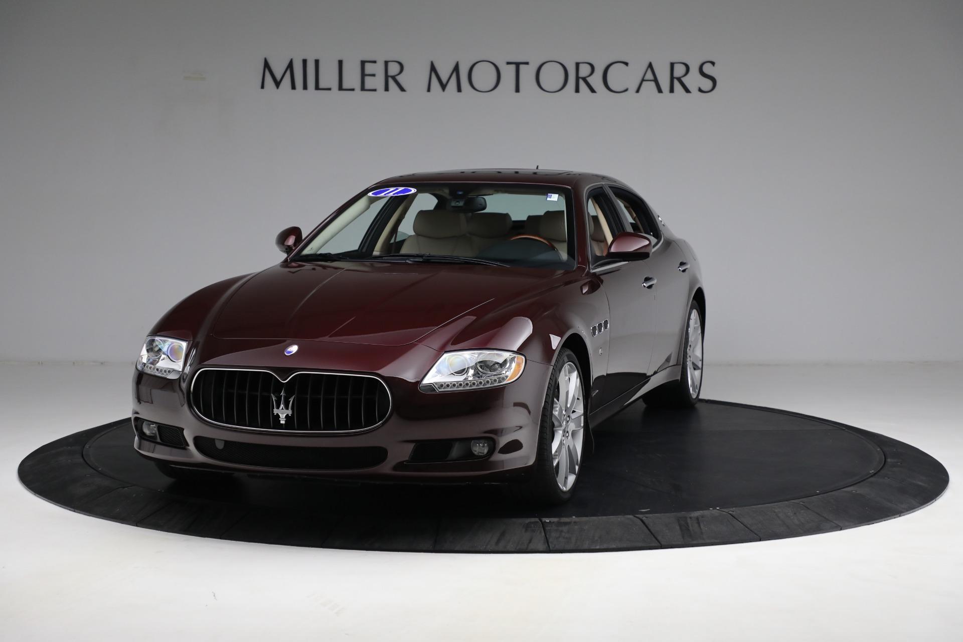Used 2011 Maserati Quattroporte for sale $37,900 at Pagani of Greenwich in Greenwich CT 06830 1
