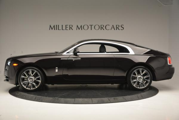 Used 2017 Rolls-Royce Wraith for sale Sold at Pagani of Greenwich in Greenwich CT 06830 3