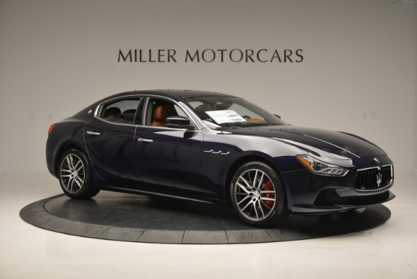 Used 2017 Maserati Ghibli S Q4 - EX Loaner for sale Sold at Pagani of Greenwich in Greenwich CT 06830 10