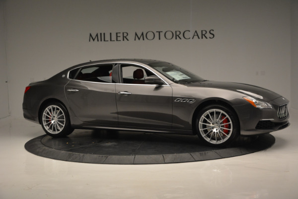 New 2017 Maserati Quattroporte S Q4 GranLusso for sale Sold at Pagani of Greenwich in Greenwich CT 06830 10