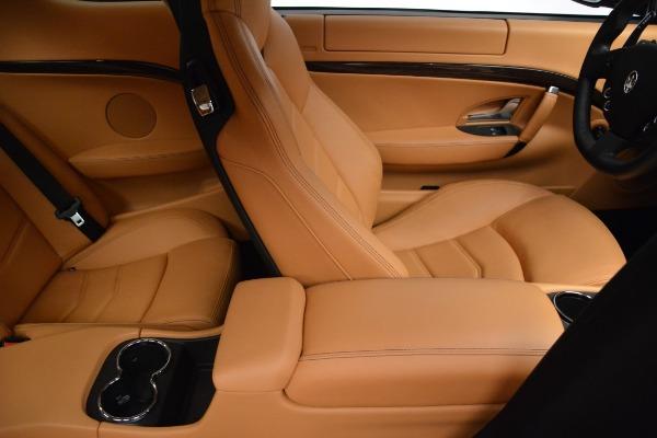Used 2017 Maserati GranTurismo Sport for sale Sold at Pagani of Greenwich in Greenwich CT 06830 22
