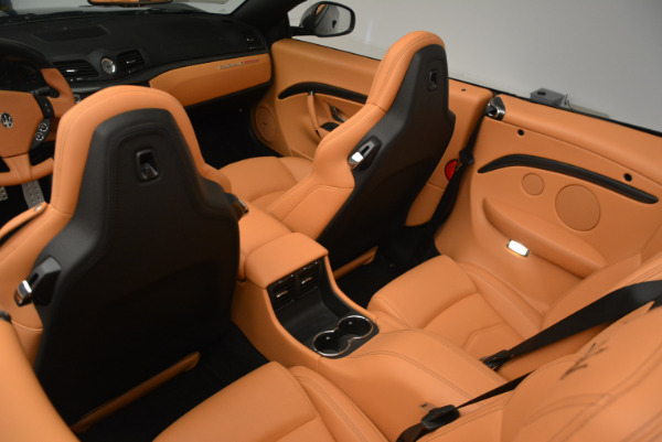 New 2017 Maserati GranTurismo MC CONVERTIBLE for sale Sold at Pagani of Greenwich in Greenwich CT 06830 24