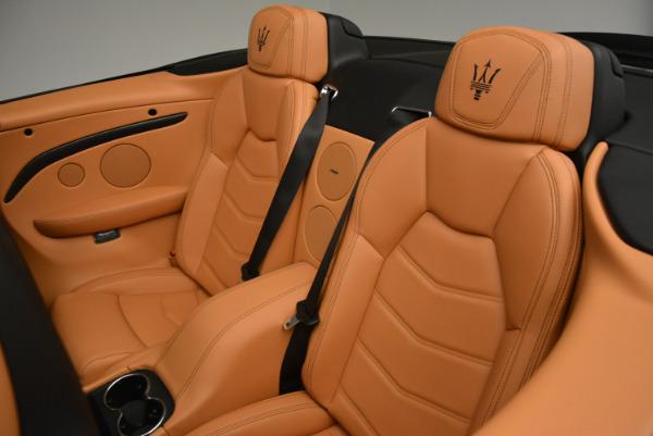 New 2017 Maserati GranTurismo MC CONVERTIBLE for sale Sold at Pagani of Greenwich in Greenwich CT 06830 26