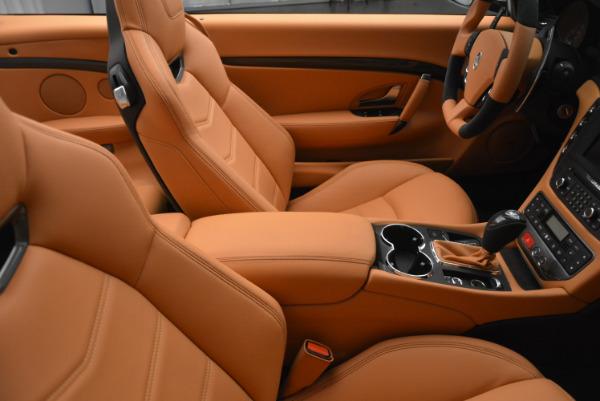 New 2017 Maserati GranTurismo MC CONVERTIBLE for sale Sold at Pagani of Greenwich in Greenwich CT 06830 28