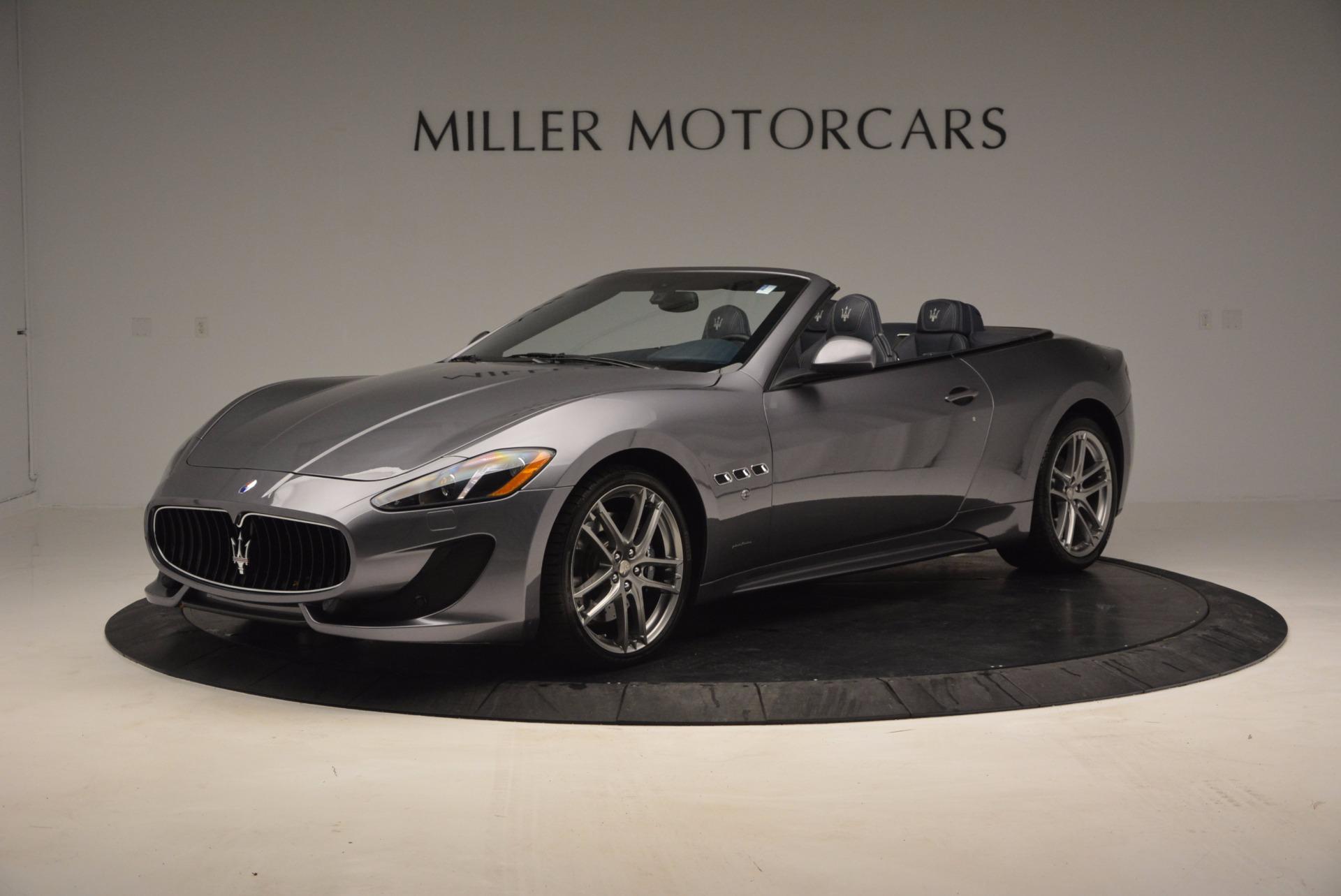 New 2017 Maserati GranTurismo Sport for sale Sold at Pagani of Greenwich in Greenwich CT 06830 1