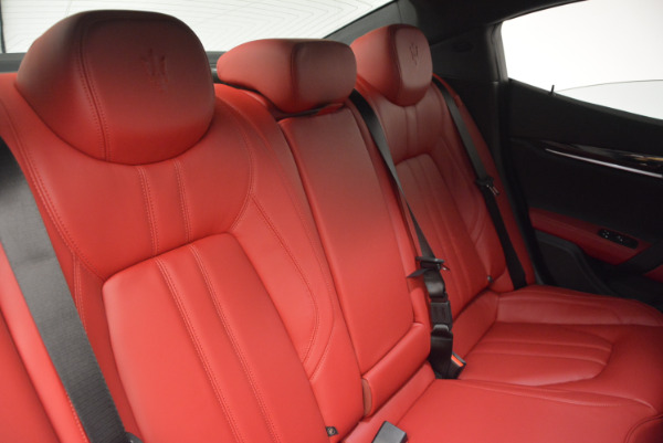 New 2017 Maserati Ghibli S Q4 for sale Sold at Pagani of Greenwich in Greenwich CT 06830 28